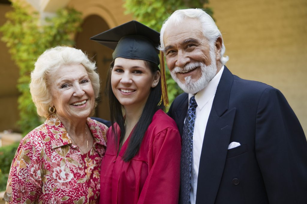 Are You the Grandparent or Elder Relative of a Graduate This Year? Let's Treat Him/Her to Something Special!